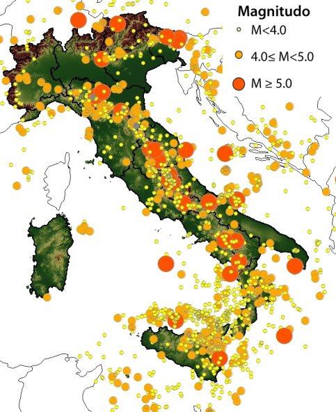 Vulnerabilit e rischio sismico in italia for Rischio sismico in italia